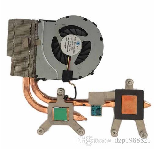 Refrigerador para HP DV6-3000 DV7-4000 DV6 ventilador do refrigerador DV7 com dissipador de calor de refrigeração 631743-001 610777-001 610778-001 606575-001