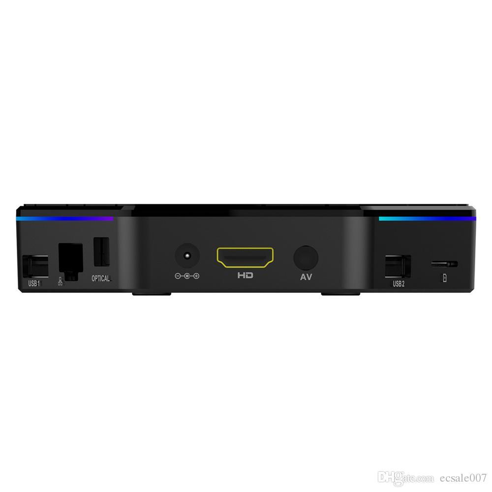 T95Z Plus Amlogic S912 أندرويد TV Box Octa core ARM كورتكس-A53 2G / 16G أندرويد 7.1 TV Box WiFi BT4. 0 2.4 G / 5.8 G H. 265 4K Play