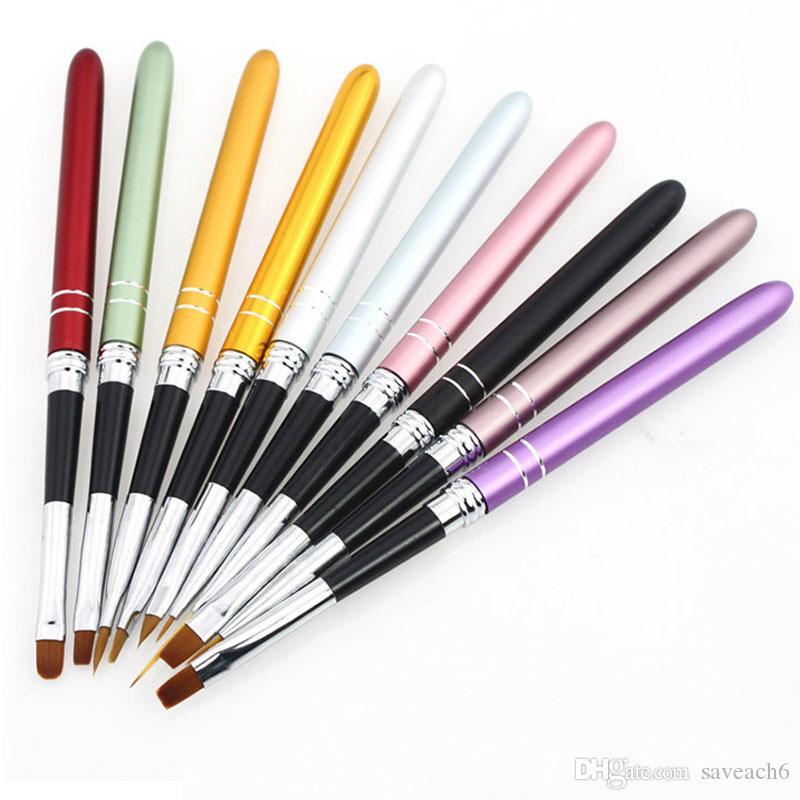 Nail Art Design Brush Uv Gel Pen Tips Tool For Nail Brushnails Tool