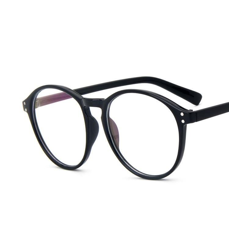 444f99df34 2018 Wholesale New Women Men Optical Glasses Classic Round Frame Reading  Eyeglasses Womens Myopia Clear Glasses Oculos From Tonic