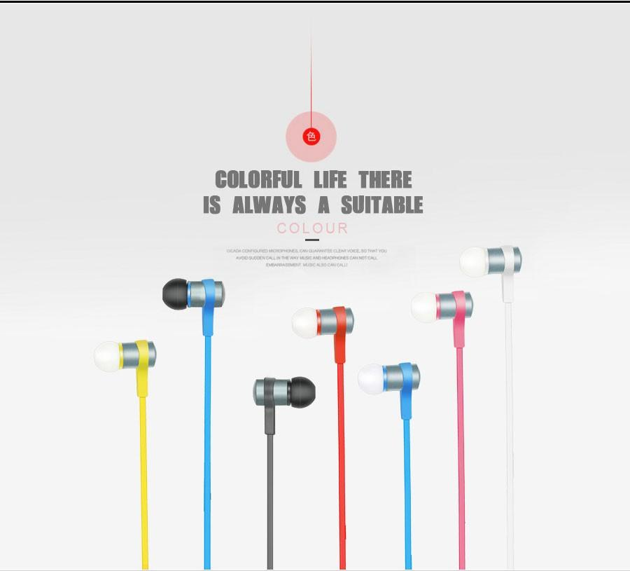 Bluetooth Earphone S6-1 Metal Wireless Stereo Sport Ear hook Headphone With Mic for iphone 7 Samsung galaxy S7 Xiaomi Redmi Phones