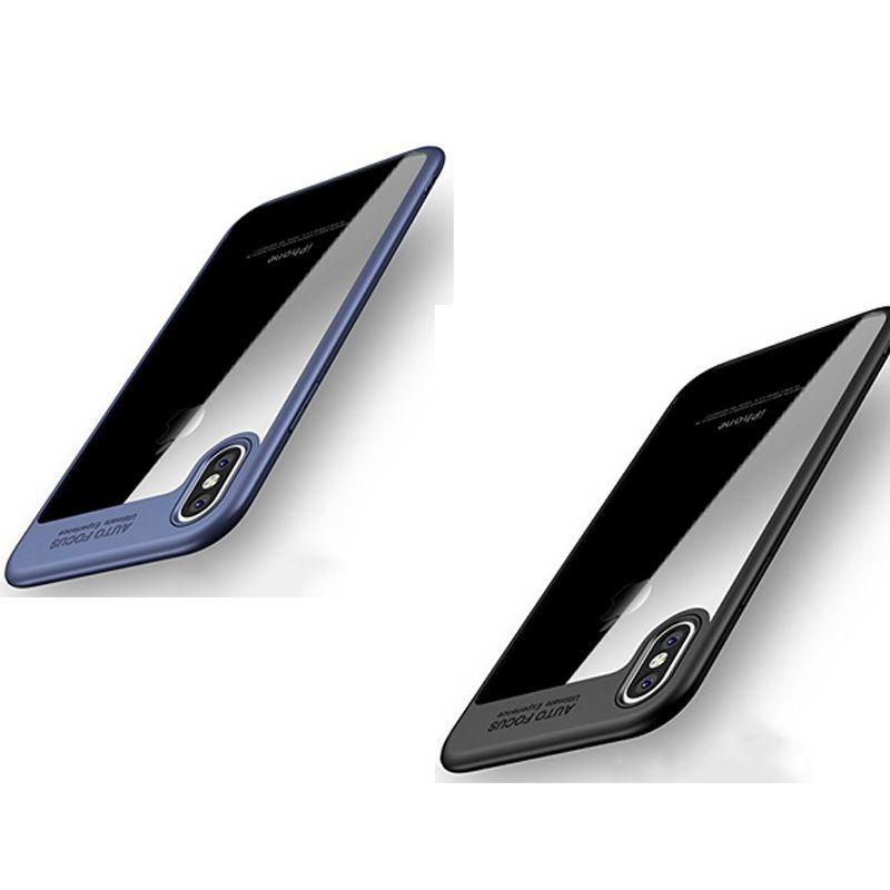 2017 Fundas para iPhone 8 Plus iPhone X Funda con tapa trasera para teléfono Funda TPU Protector a prueba de golpes para el teléfono para Iphone 8