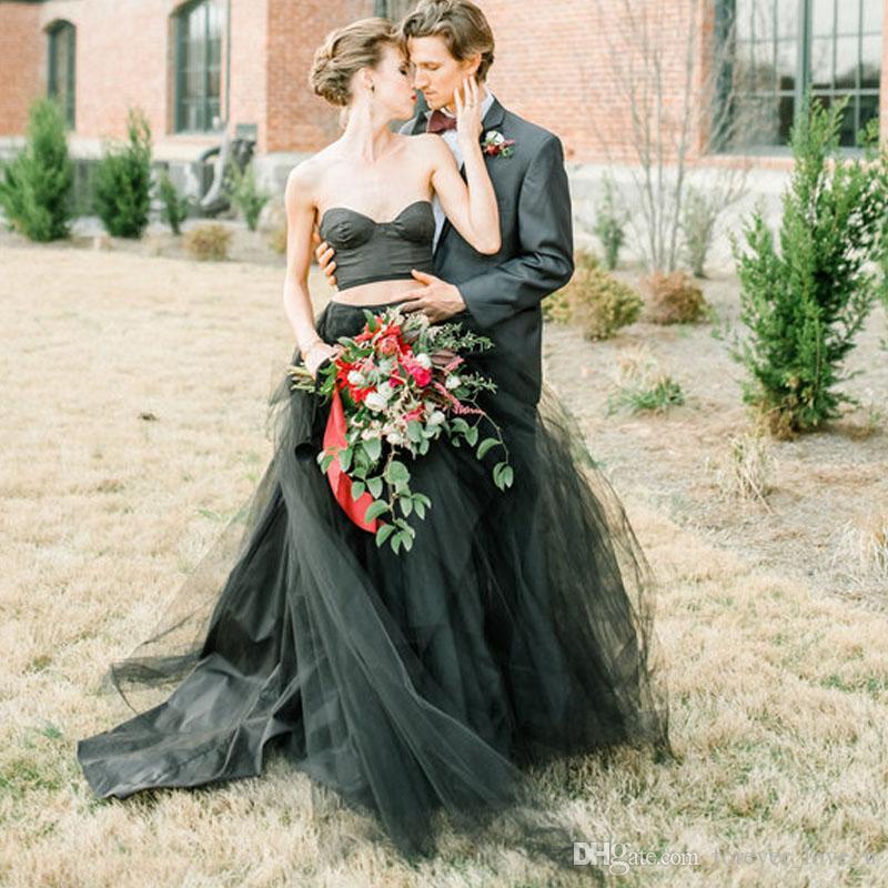 Vestido de novia negro origen