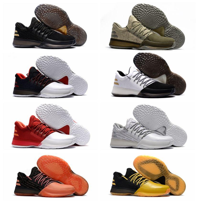 47c463979588 2017 Hot Harden Vol. 1 Bhm Black History Month Mens Basketball Shoes  Fashion James Harden