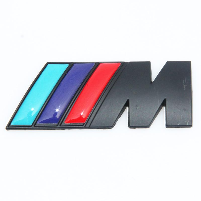 NEW M power 시리즈 로고 스티커 엠블럼 배지 Chrom 1 3 4 5 6 7 E Z X M3 M5 M6 Mline for BMW M