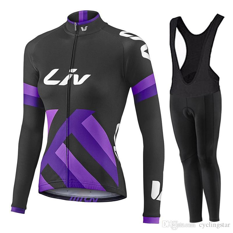 2017 Pro Cycling Jersey LIV Team Women Cycling Clothing Mountain Bike  Clothes Spring autumn Quick Dry Mtb Bicycle Sportswear D1105 Cycling Jerseys  Ropa ... 48ea74c56