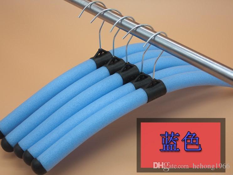 Magic Coat Hanger Foam Adult Non Slip Clothes Tree Colourful Laundry Originality Hangers Reusable Hot Sale 0 4zj C R