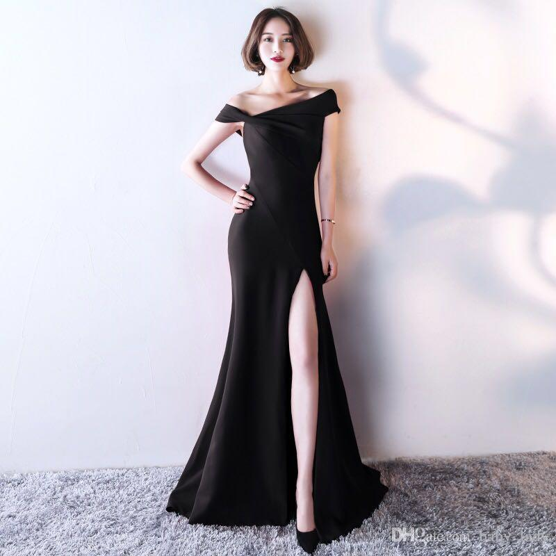2018 Evening Dress 2017 New Style Make You Look Slimmer Feast Formal ...