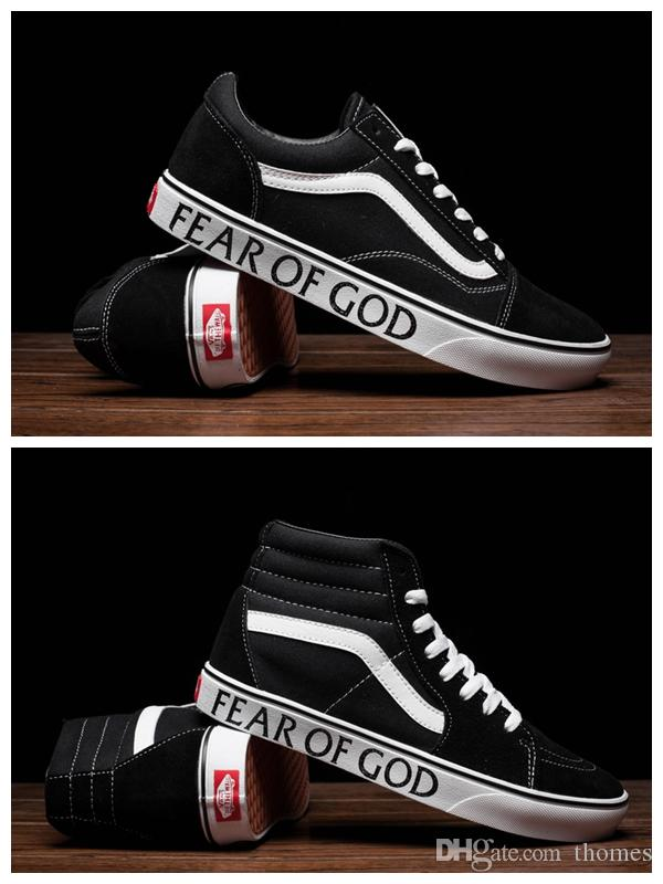2017 Hot Fear Of God X Vans Sneakers Women And Mens Old ...