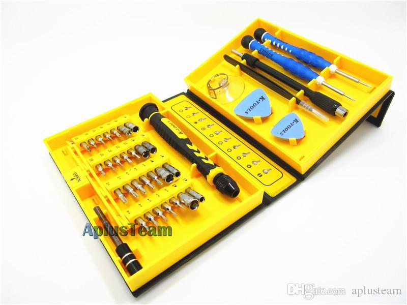 Universale 38 in 1 di precisione multiuso cacciavite set riparazione strumento di apertura Kit Fix con custodia iPhone laptop orologio da polso
