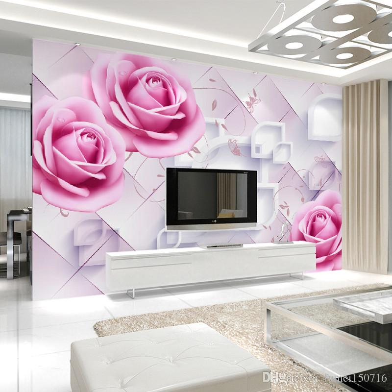 Can Be Customized Large Scale Mural 3d Wallpaper Wall Paper Bedroom ...