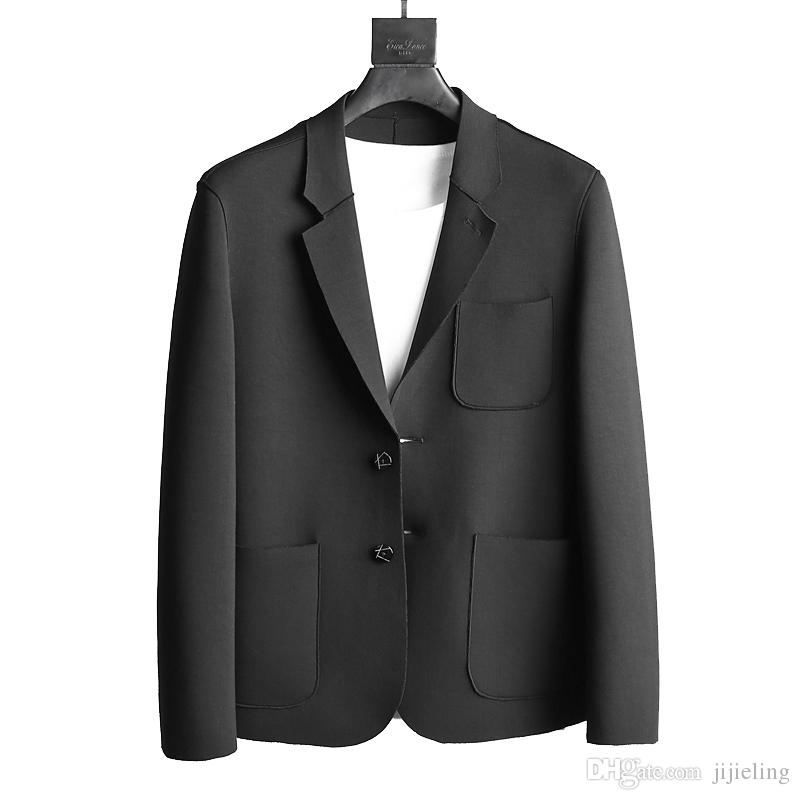 Mens black suit jacket go suits for Space suit fabric