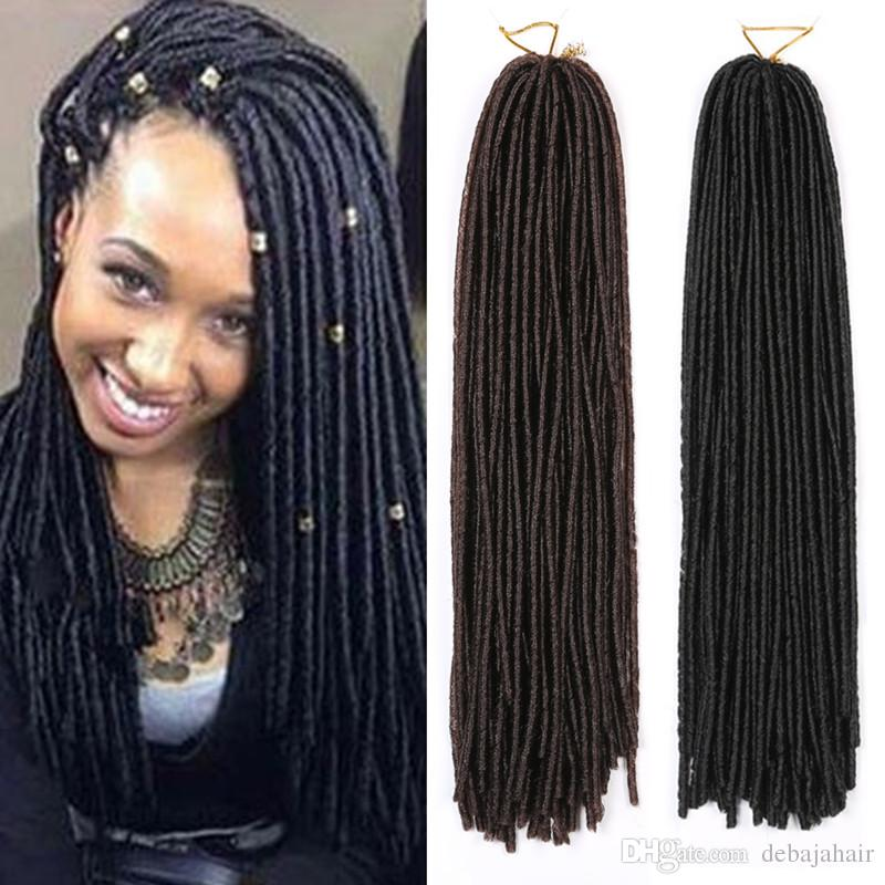 Newest Synthetic Braiding Hair Extensions Kanekalon Faux Locs