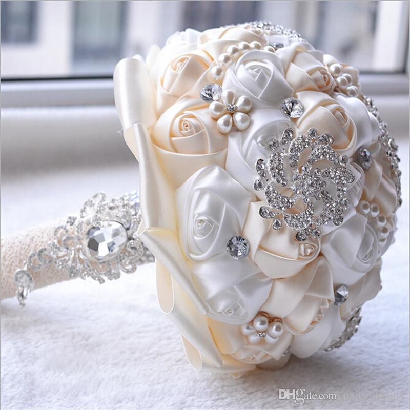 Wedding Bouquets Wedding Flowers Handmade Rose Wedding