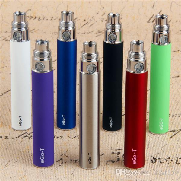 5 шт. электронная сигарета eGo-T аккумулятор 650 900 1100 мАч Vape Pen 510 резьба испаритель eGo T с USB зарядные устройства подходят 510 эго форсунки 100% качество