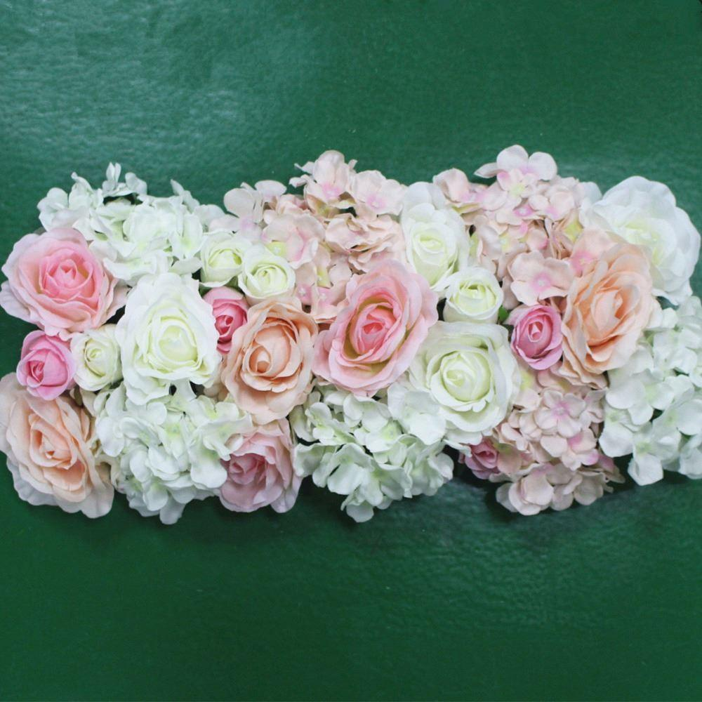 Artificial silk flower wedding road lead hydrangea peony rose flower artificial silk flower wedding road lead hydrangea peony rose flower for wedding arch square pavilion corners decorative flores high quality flower impor izmirmasajfo