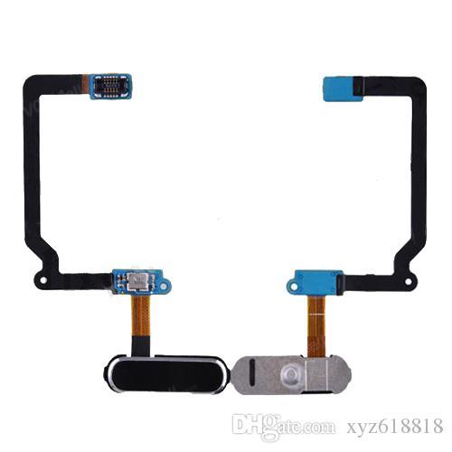 Original New Replacement Home Button Menu Key Fingerprint Sensor Flex Cable For Samsung Galaxy S5 i9600 G900A G900V G900F White Black Gold
