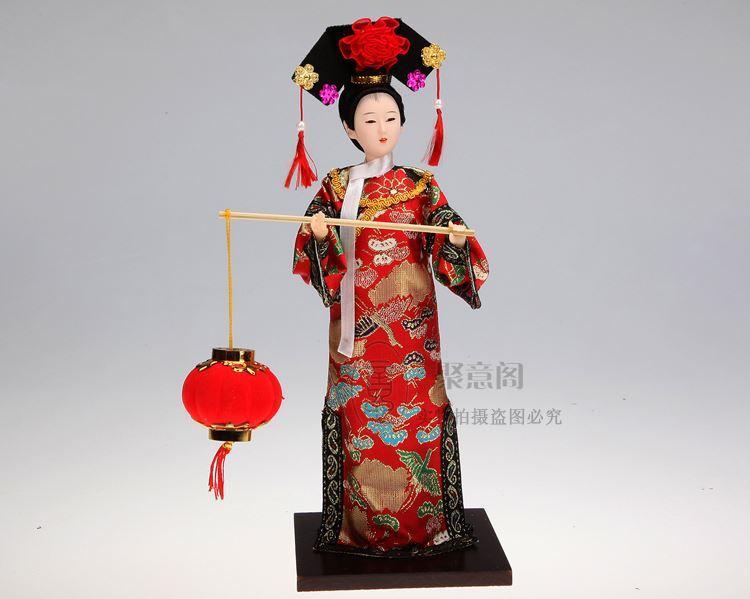 Pechino Tang Fang Qing Juan seta autentico souvenir di Pechino regalo Cina
