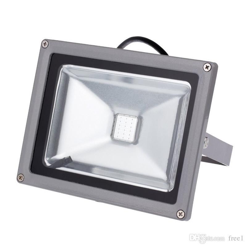 Wholesale outdoor RGB led flood light 10W 20W 30W 50W 100W floodlight, high power led flood light With rgb remote control CE UL