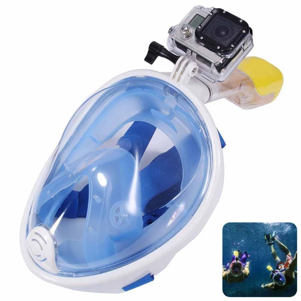 2018 full face snorkel mask snorkeling gear set with gopro - Discount dive gear ...