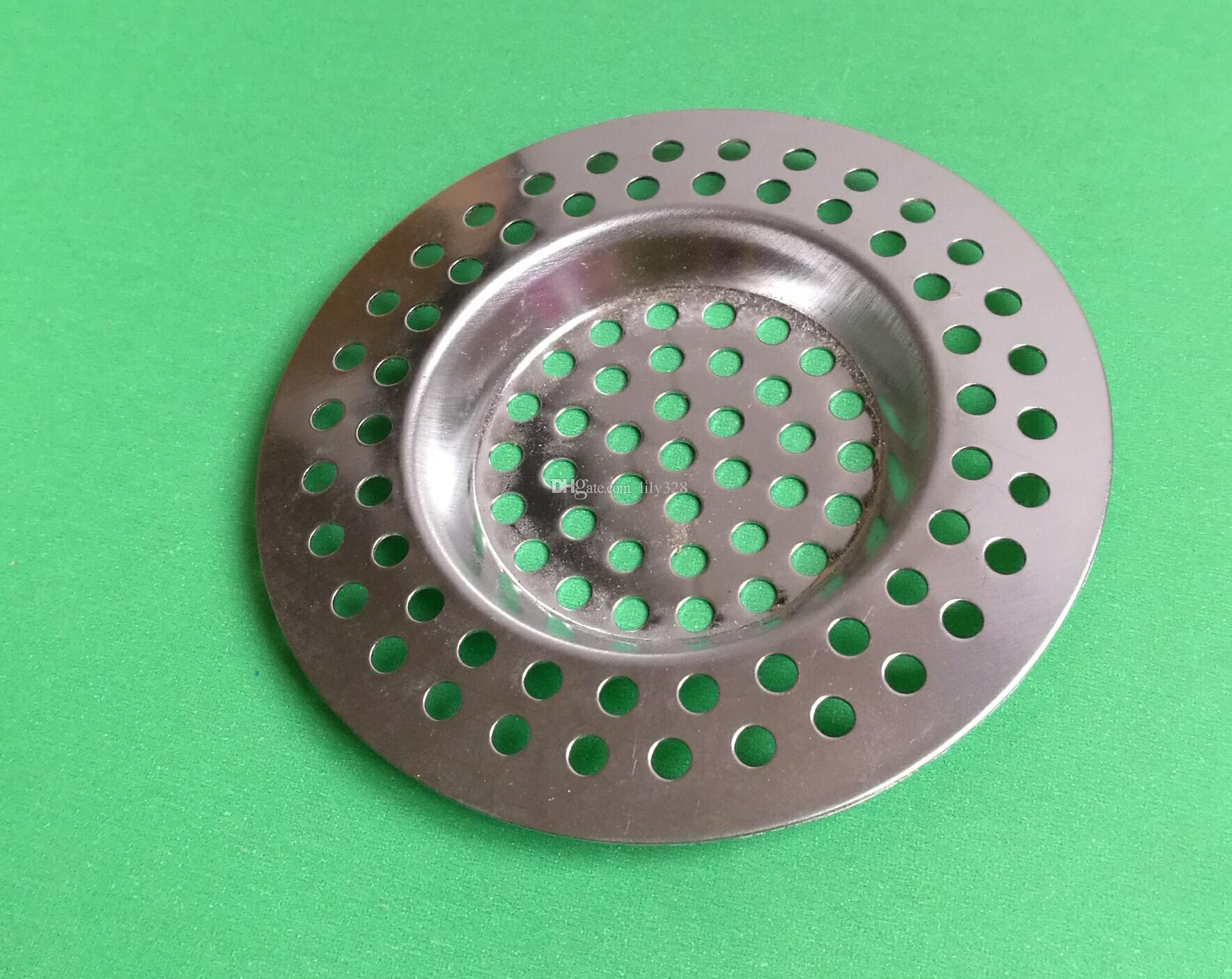 7.5 cm in acciaio inox rotondo scarico a pavimento cucina lavello filtro fognatura scarico capelli scolapasta filtri filtro da bagno