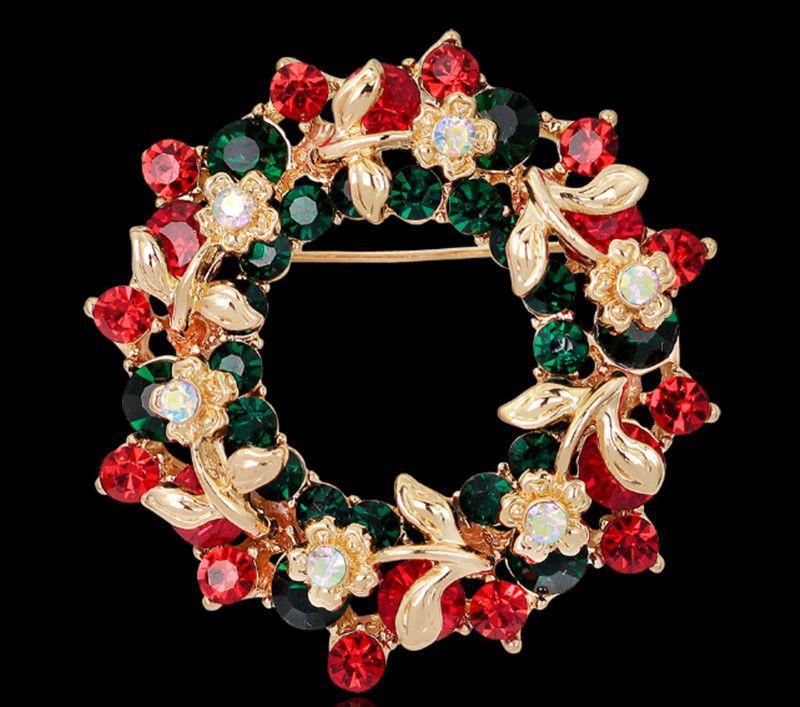 Noel eşarp toka Esmalte De Unhas broş Broches düğün buket Vintage düğün başörtüsü eşarp Pin up toka Broches XZ76