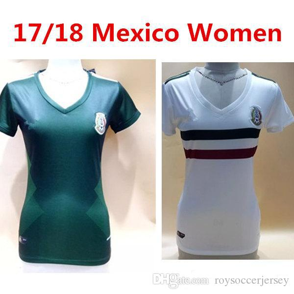 8a000331bc3 ... Top quality 2017 2018 World Cup women Mexico Soccer jersey Chicharito football  shirt 17 18 Mexico 2014 Mexico World Cup Home 7 Miguel Layun ...