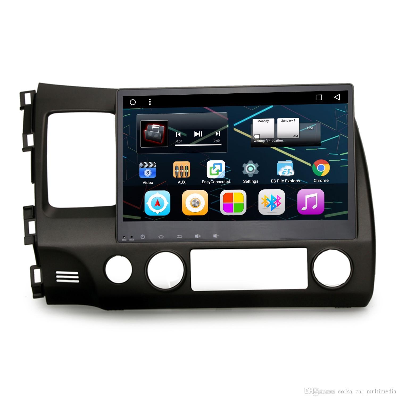 10 2 Touch Scren Andorid 6 0 1 Auto Recorder Car DVD For Honda Civic