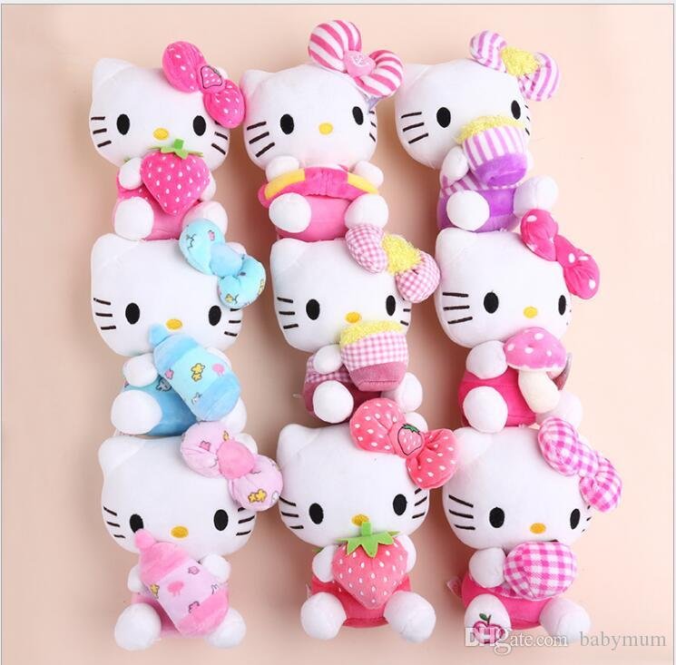 2019 18 Style Hello Kitty Plush Toys High Quality Stuffed Dolls For