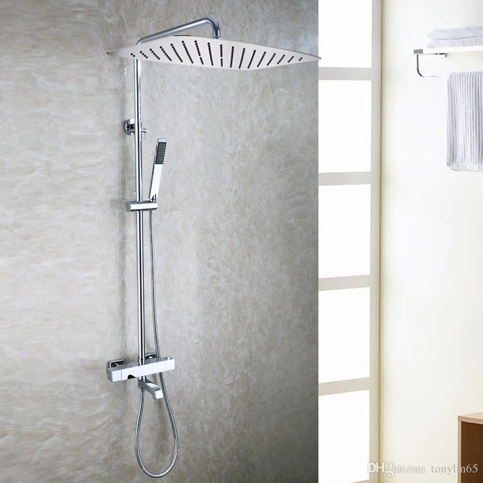 waterfall tap white bathroom shower with home chrome in faucets item bath wall brass faucet from crane head mounted bathtub
