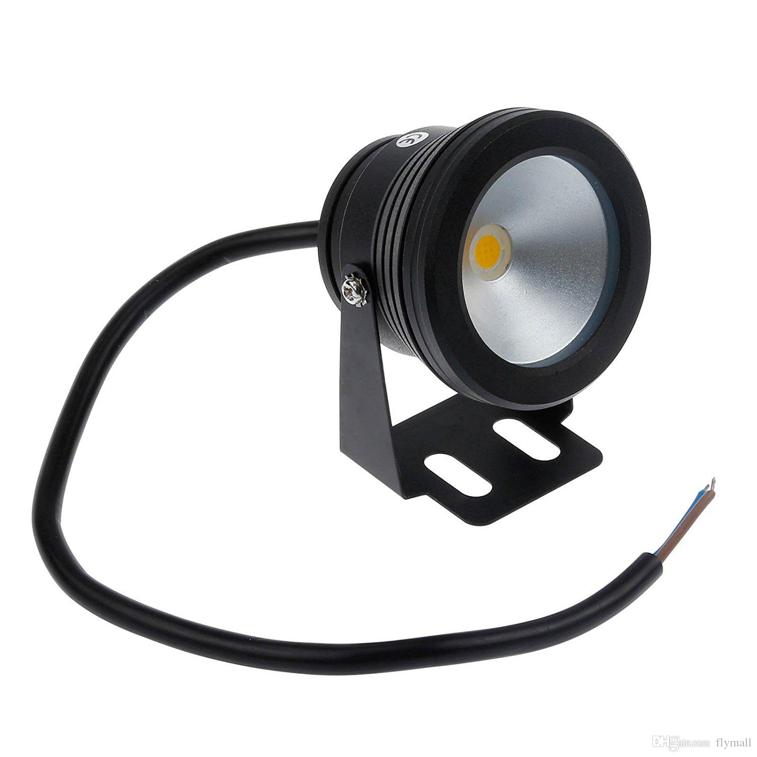 10W DC 12V Underwater Led Light Spotlights Cool White Warm White Waterproof IP68 Pond Pool Lamp For Fountain Lighting Landscape Spot Light