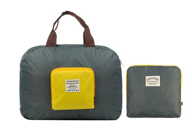 50 قطعة / الوحدة 4 ألوان للجنسين أكسفورد طوي ماء تخزين ايكو reusable التسوق حمل حقائب السفر متعددة الوظائف حقيبة القماش الخشن في الهواء