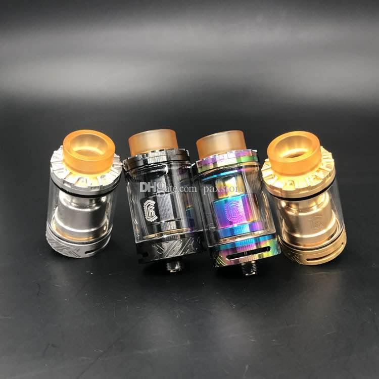RELOAD VAPOR EUA Recarregar RTA RDA Tanque Vape Clone 24mm de Diâmetro com Plataforma Postless Projeto Top Encher Sistema fit 510 Vape Mods DHL