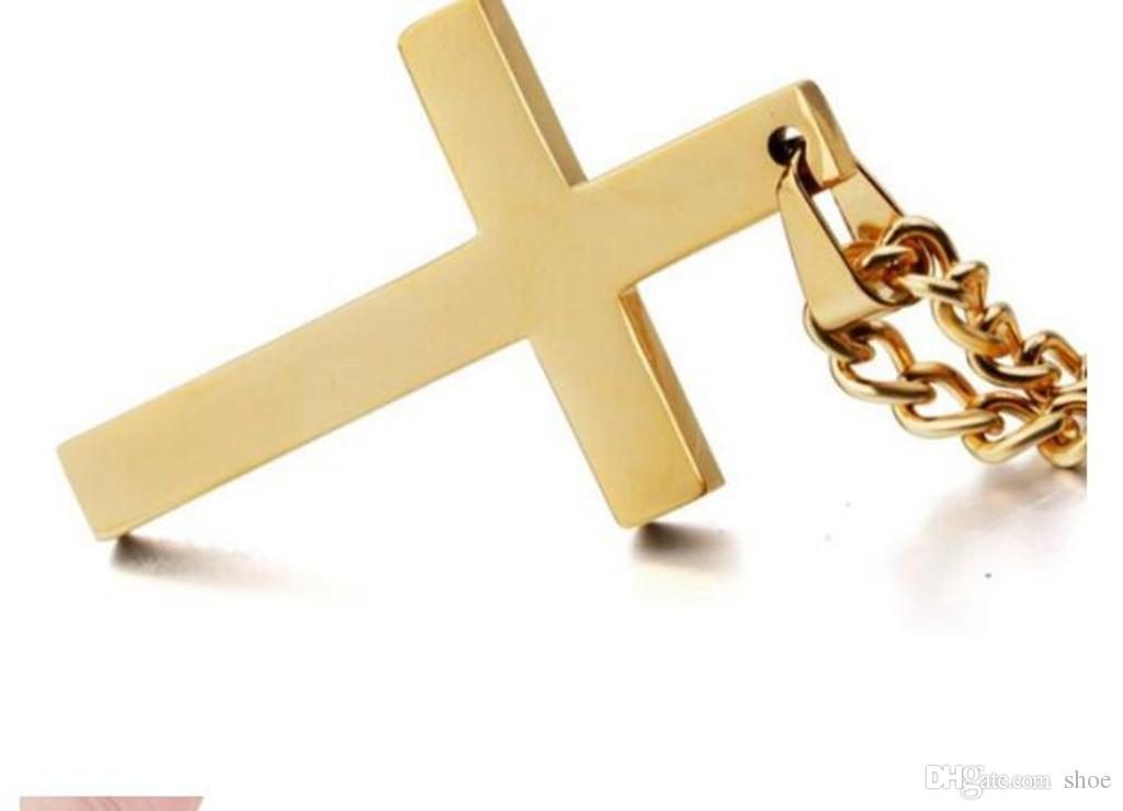 Latin christian cross pendants necklaces religious jewelry 18k gold latin christian cross pendants necklaces religious jewelry 18k gold platedstainless steel fashion cross jewelry gift accessories cross necklace cross aloadofball Images