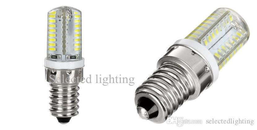 G9 G4 E14 3W 64 SMD LED BLIB LICHT 3014 Warm Wit / Cool Wit LED-maïsverlichting AC 220V 110V