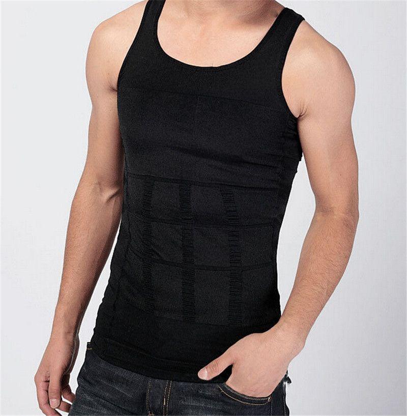 Mens Fino Levantar Corset Shaper Shirt Emagrecimento Barriga Shaper Do Corpo Barriga Gordura Do Corpo Girdle Invisible Design Underwear Vest