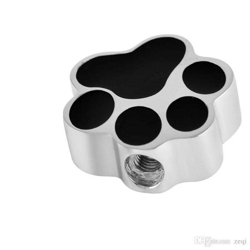 شكل مخلب الكلب الأسود من الفولاذ المقاوم للصدأ مجوهرات قلادة قلادة قلادة مجوهرات تذكارية مجانية