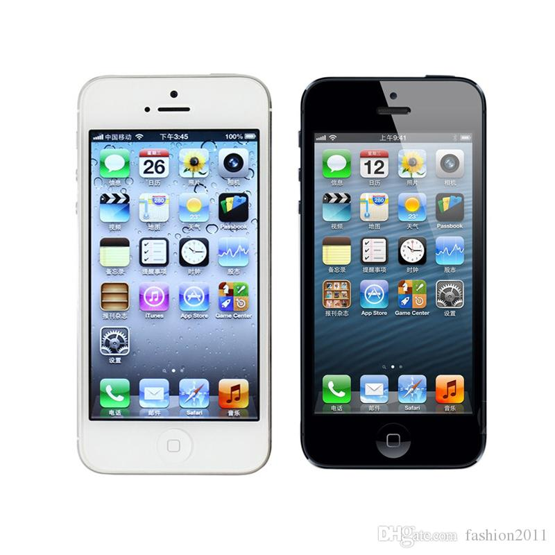 Original Unlcoked Apple Iphone 5 8MP Camera 1GB RAM 16/32/64GB ROM 4.0 Dual Core 3G/4G ...