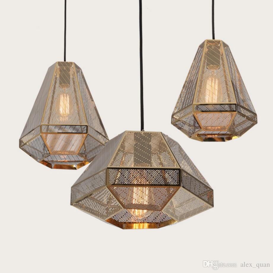 Tom Dixon Pyramid Etch Pendant Lamp Suspension Light Diamond ...