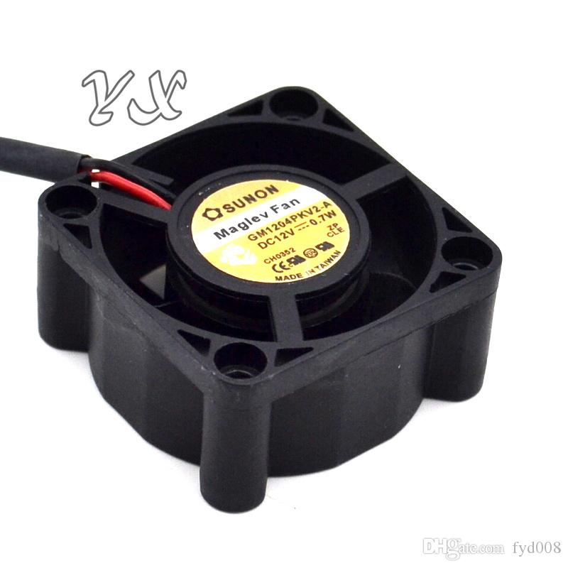 Оригинальный SUNON 4020 12 в 0.7 Вт GM1204PKV2-ультра тихий 2-проводной вентилятор охлаждения