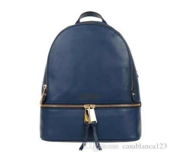 Hot Sale backpacks designer 2018 fashion women lady black red rucksack bag charms