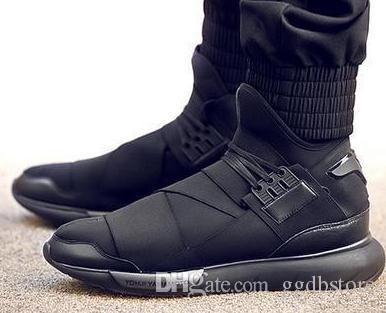 New Style Y 3 Shoes Hot Sale Y3 QASA Men And Women Genuine Leather High  Quality Lovers Shoes Size 35 45 Most Comfortable Shoes High Top Shoes From  Ggdbstore ... 728e525847