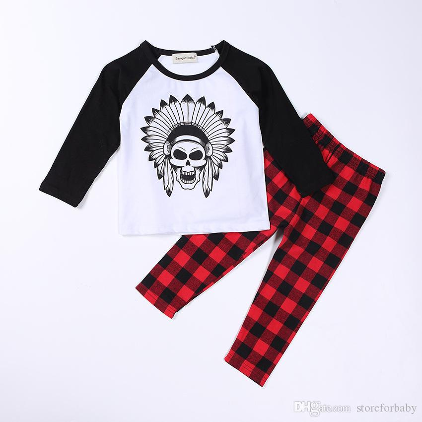 lace o neck baby boy clothes sets top+pants pring baby girl kids t shirt+pants+headwear toddler print girls pattern clothes