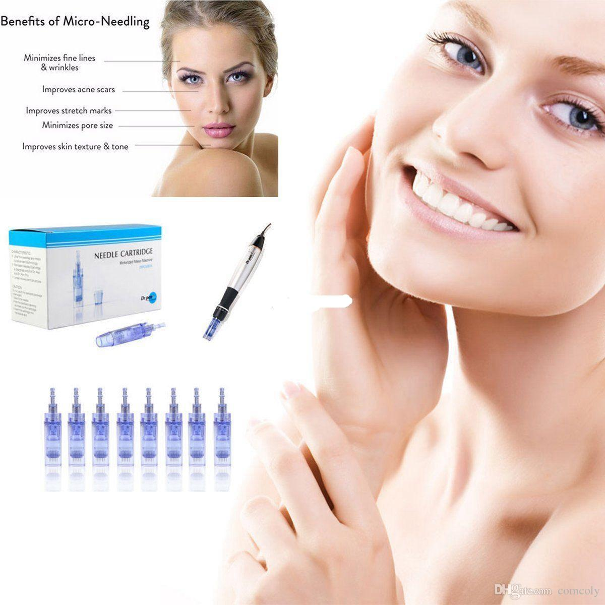 Micro Needles Cartridge for Ultima A1 Tips Electric Auto Micro Stamp Derma Dr Pen Anti Acne Skin Care Lifting Firming