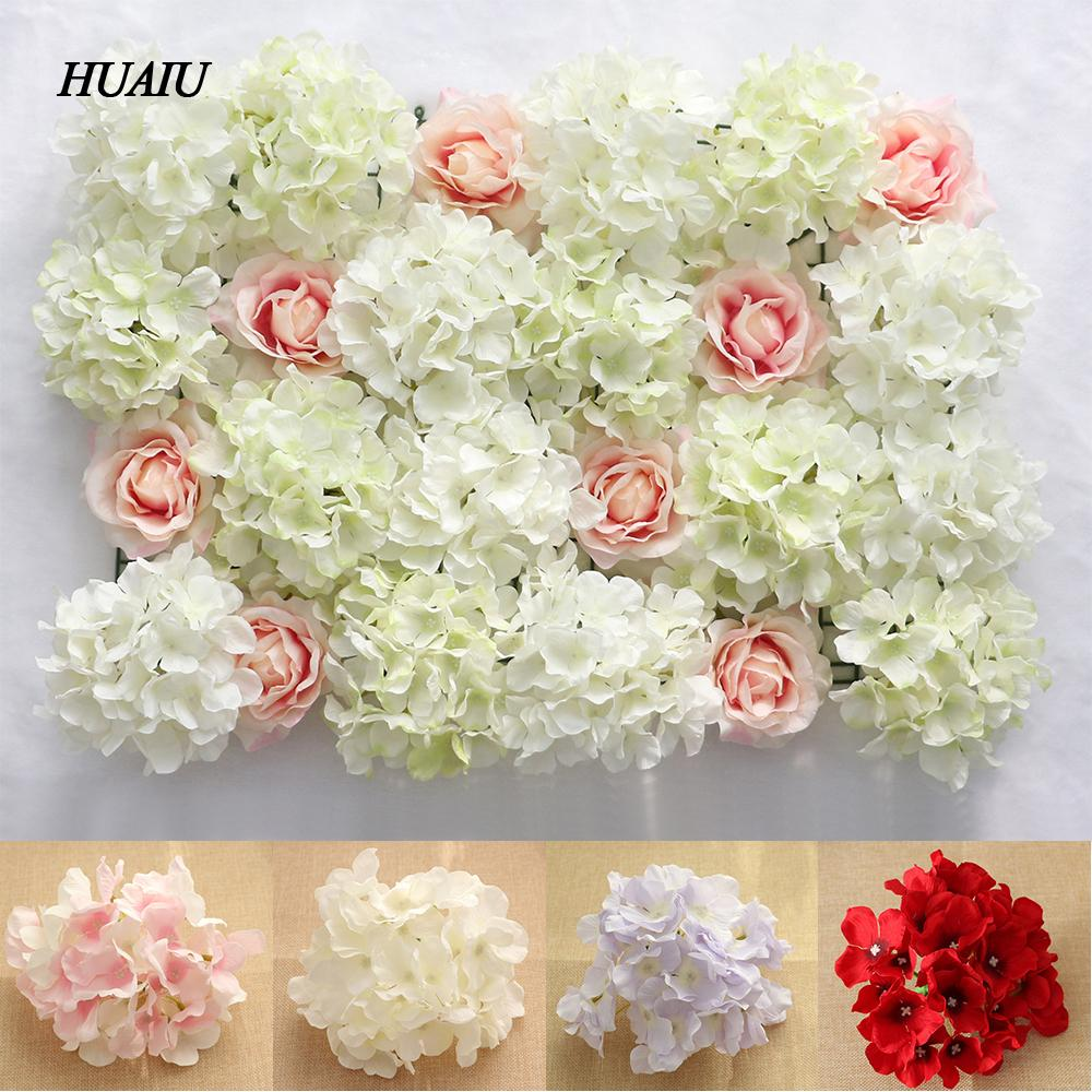 2018 diy artificial flower heads hydrangea peony silk wedding 2018 diy artificial flower heads hydrangea peony silk wedding flowers floral wall backdrop for hotel background decoration from ziyu168 3221 dhgate mightylinksfo