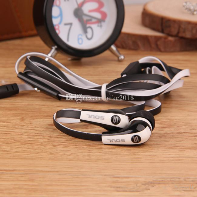2017 Hot Selling Mini Soul SL700 Soul By Ludacris Ear Earphone Headset Headphone For Apple Ipod Iphone Android phone with retail package