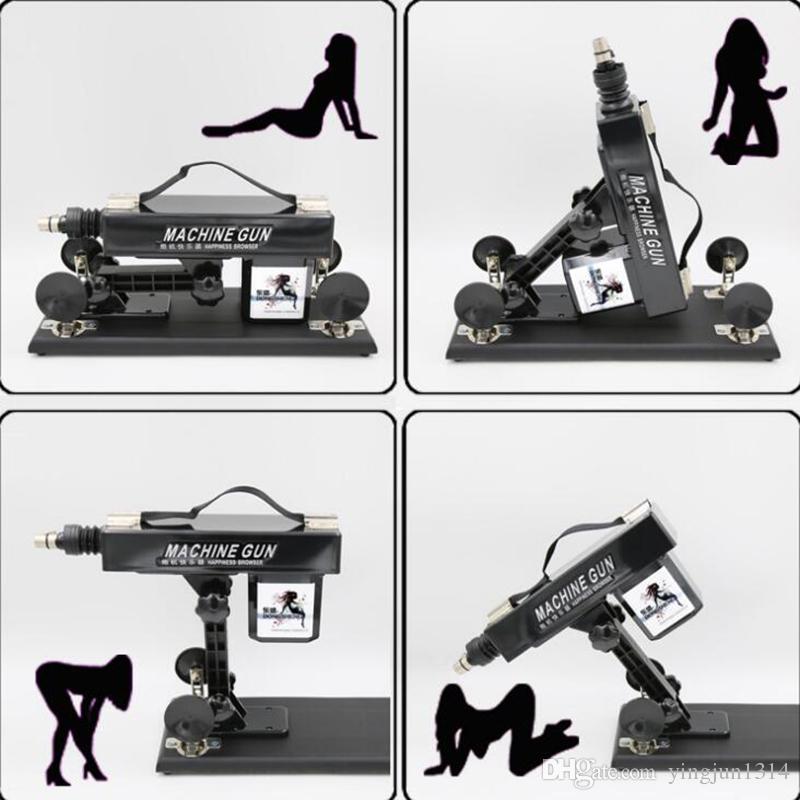 Automatische Sex-Maschine für Frauen und Männer Neue Maschinen für Sex-Masturbation-Liebe-einziehbare Maschinen-Erschütterungs-Sex-Spielzeug geben Verschiffen frei