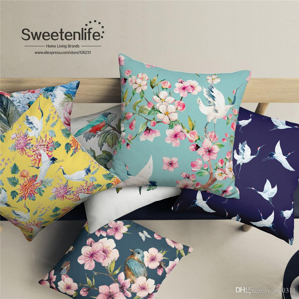 On Sale New List Exquisite Colorful Decorative Pillow Soft White