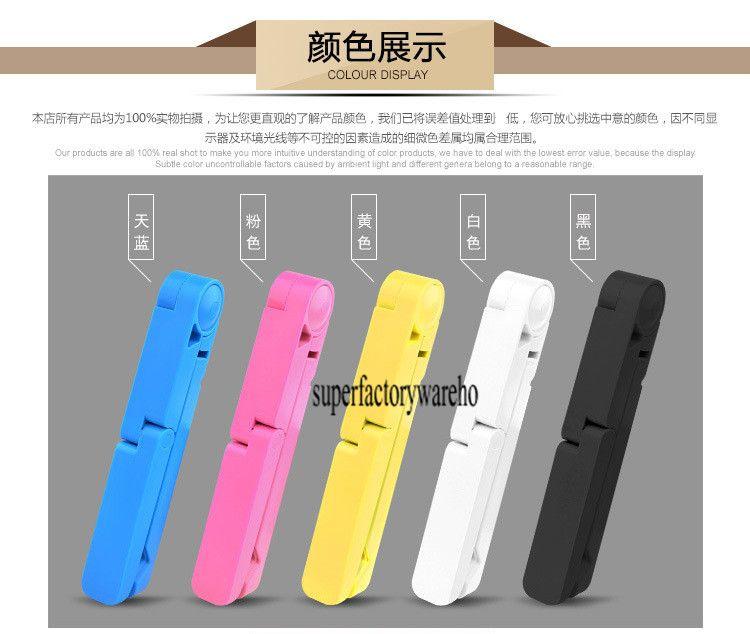 Faul Handy stehen tragbare Tablet PC Stand kreative Klapp flache Dreieck Halterung
