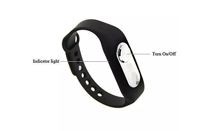 Outdoortop портативный Перезаряжаемый браслет 4G/8G диктофон звуки записи ручка цифровой диктофон черный